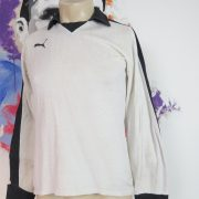 Vintage Puma ls shirt 1970ies padded GK soccer jersey size M very old (2)