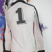 Vintage Puma ls shirt 1970ies padded GK soccer jersey size M very old (5)