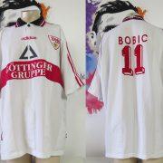 Vintage VfB Stuttgart 1997 1998 home shirt trikot Bobic #11 adidas size XXL (1)