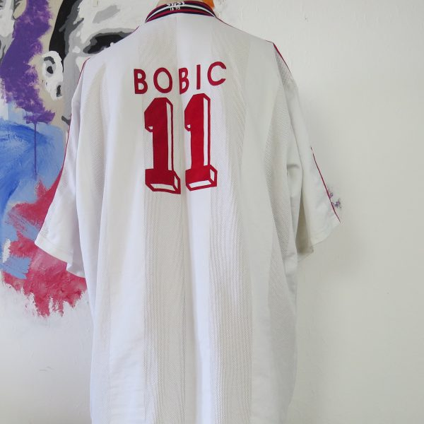 Vintage VfB Stuttgart 1997 1998 home shirt trikot Bobic #11 adidas size XXL (3)
