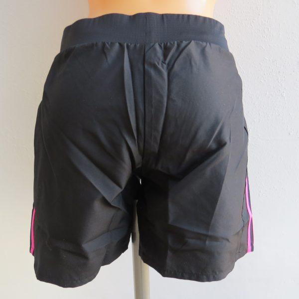 ADIDAS Women's black pink OZWEEGO Climalite AY1542 Running Shorts XS UK6 BNWT (2)