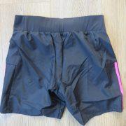 ADIDAS Women's black pink OZWEEGO Climalite AY1542 Running Shorts XS UK6 BNWT (5)
