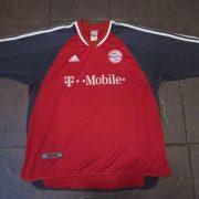 Bayern Munchen 2001 2002 home shirt adidas munich jersey size XXL (1)