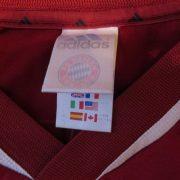 Bayern Munchen 2001 2002 home shirt adidas munich jersey size XXL (2)