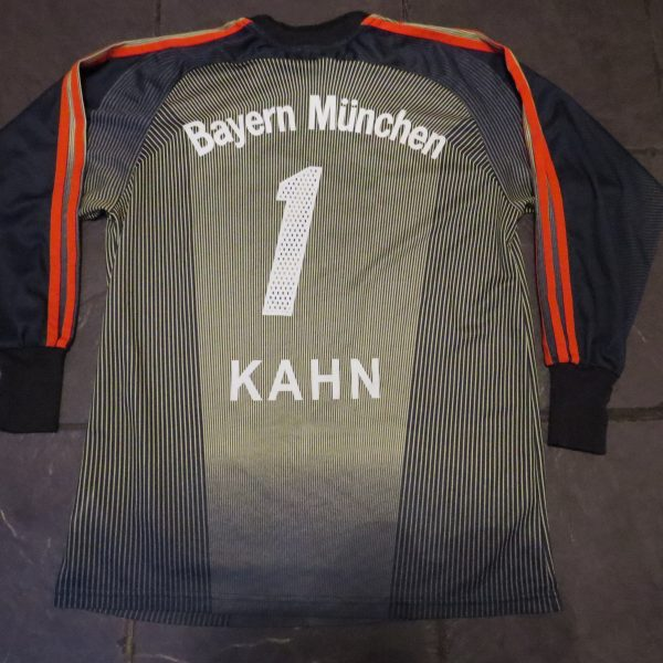 Bayern Munchen 2003 2004 LS GK shirt adidas Munich Kahn 1 size S (5)