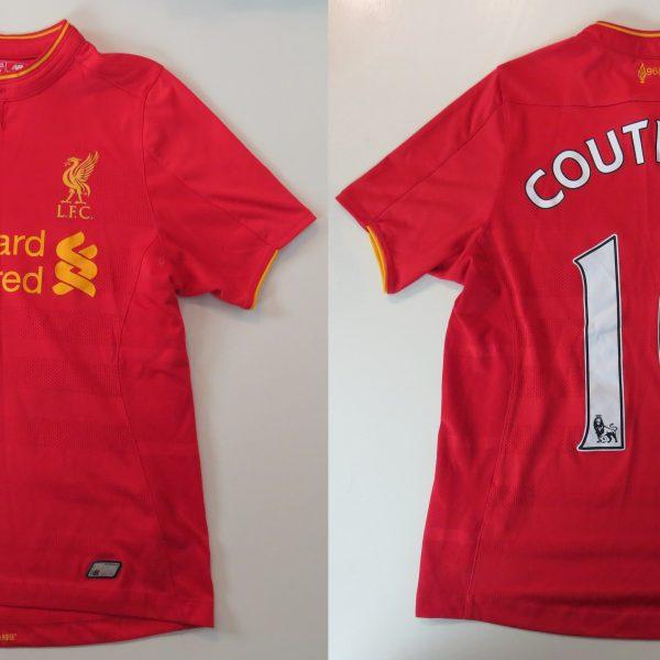 Liverpool 2016 2017 home shirt New Balance Coutinho 10 size Boys L 146cm (1)