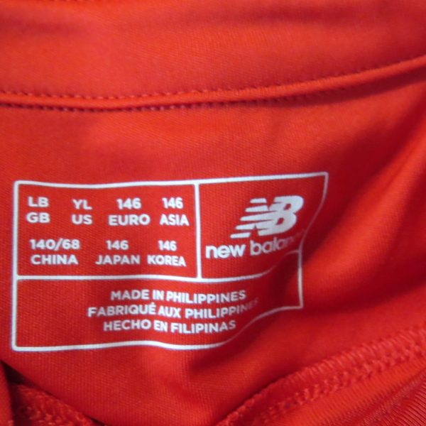 Liverpool 2016 2017 home shirt New Balance Coutinho 10 size Boys L 146cm (3)