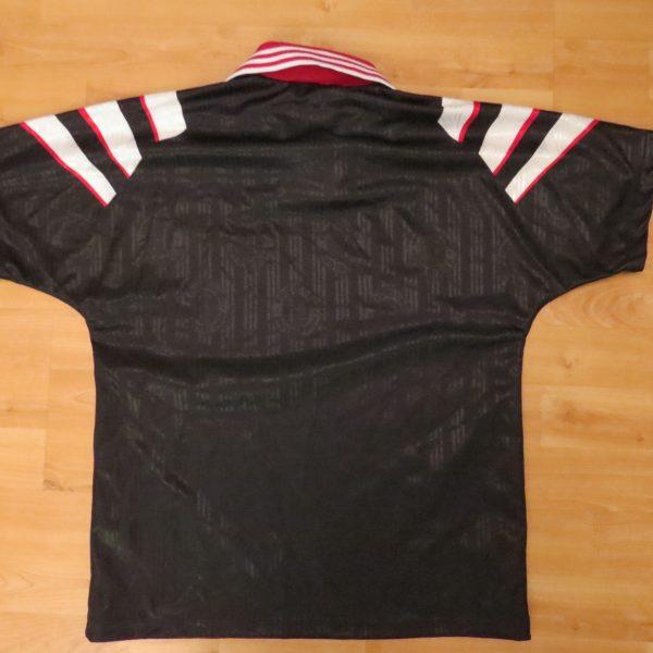 Vintage Feyenoord 1996 1997 away shirt adidas jersey size boys L 12Y (1)