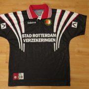 Vintage Feyenoord 1996 1997 away shirt adidas jersey size boys L 12Y (2)