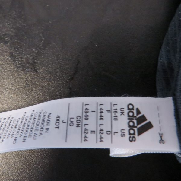 adidas aero carbon freelift t-shirt chill tee size L UK 16-18 bnwt RRP £39 (4)