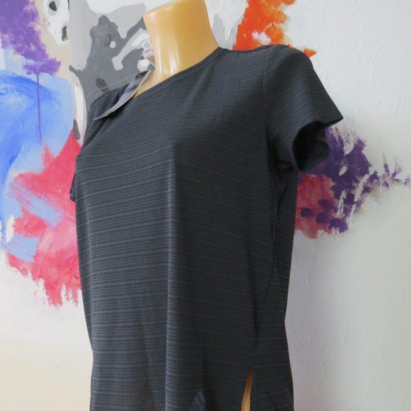 adidas freelift t-shirt chill tee carbon grey size L bnwt RRP £39.99 (2)