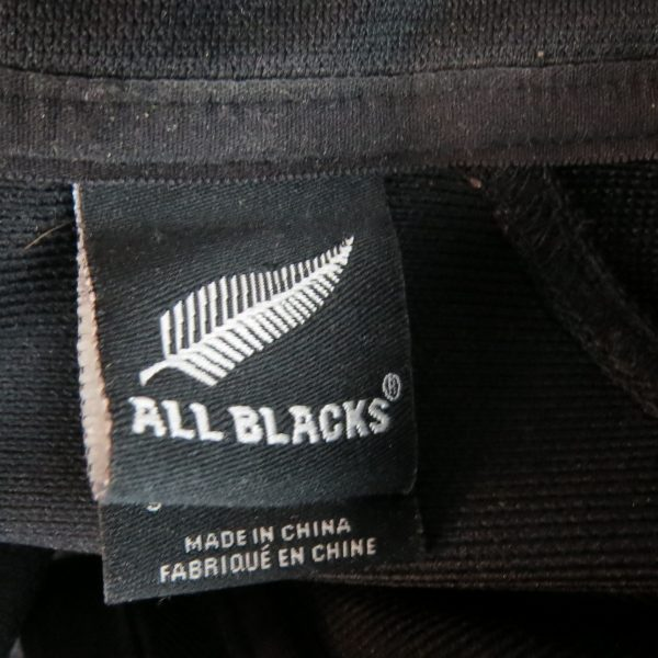 New Zealand 2005 jersey all blacks adidas Rugby Union shirt size S (2)