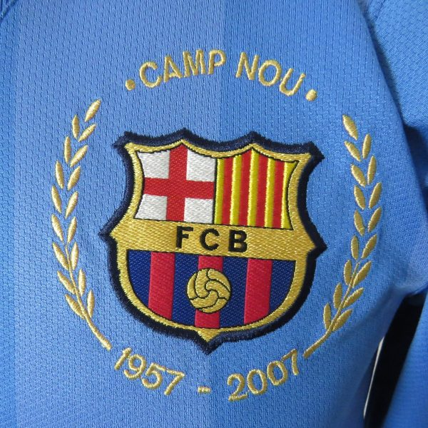 Player Issue Barcelona 2007 2008 LS Goal Keeper Shirt Size S (5)