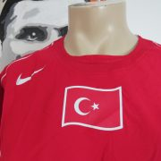 Player issue Turkey 2004 2005 2006 home shirt Nike jersey size XL (5)