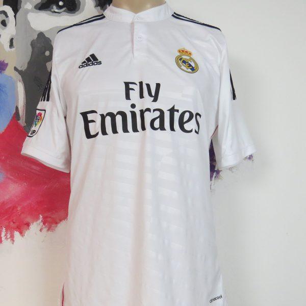 Real Madrid 2014 2015 LFP home football shirt adidas soccer jersey size M (1)