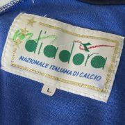 Vintage Italy 1990 1991 1992 tracksuit jacket Diadora Italia World Cup 1990 size L (2)