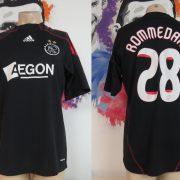Match worn issue Ajax 2009 2010 away shirt Eredivisie Rommedahl 28 (1)