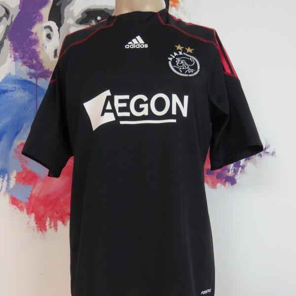 Match worn issue Ajax 2009 2010 away shirt Eredivisie Rommedahl 28 (2)