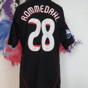 Match worn issue Ajax 2009 2010 away shirt Eredivisie Rommedahl 28 (6)