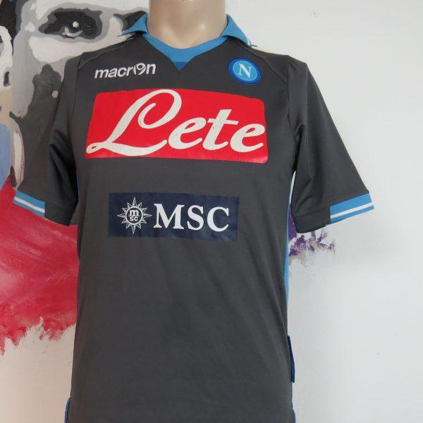 SSC Napoli 2011 2012 away shirt Macron soccer jersey Lavezzi 22 size S (2)