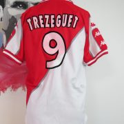 Vintage AS Monaco 1998 1999 home shirt Kappa Trezeguet 9 size M (4)
