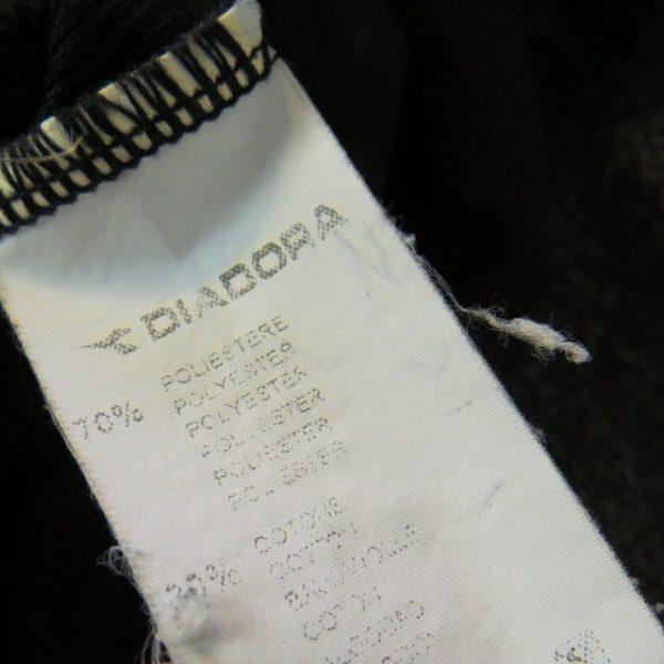 Vintage AS Roma 2000's training 14 zip top Diadora jumper sweater size XXL (3)