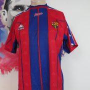 Vintage Barcelona 1998 1999 basic home shirt Kappa football jersey size M (1)