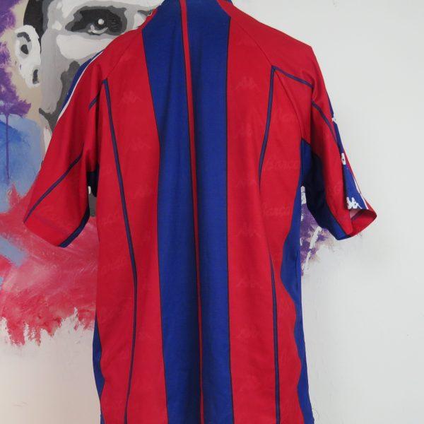Vintage Barcelona 1998 1999 basic home shirt Kappa football jersey size M (4)
