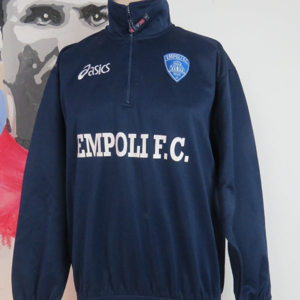 Vintage Empoli training 14 zip top Asics jumper sweater size M (1)