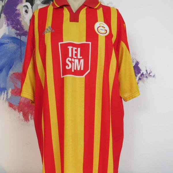Vintage Galatasaray 2000 2001 home shirt adidas soccer jersey size XL (1)