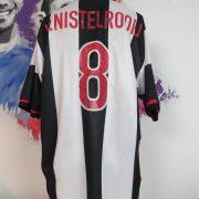 Vintage PSV eindhoven 1998 1999 away shirt v Nistelrooij #8 Nike jersey size XL (3)