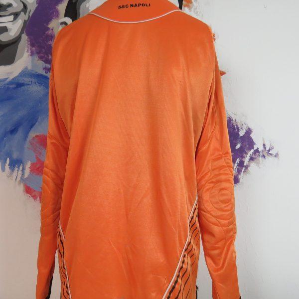 Vintage SSC Napoli 2007 2008 LS padded GK shirt Diadora jersey size L (2)