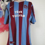 Vintage Trabzonspor 2009 2010 home shirt Nike soccer jersey size XL (1)