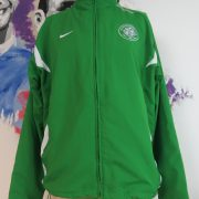 Celtic 2009 2010 green tracksuit jacket Nike zip size L (1)