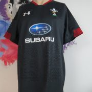 Under Armour Wales Away Shirt 2017 2018 Mens Rugby Union Anthracite size XL (1)