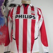 Vintage PSV Eindhoven 2002 2003 LS Home Shirt Boys large 152-158 Nike BNWT (1)