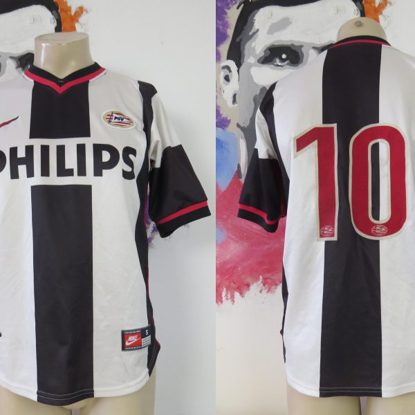 Vintage PSV eindhoven 1998 1999 CL away shirt #10 Nike jersey size S