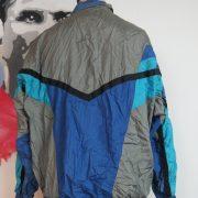 Vintage PUMA 1980ies tracksuit blue grey jacket size L (Puma size 7) (2)