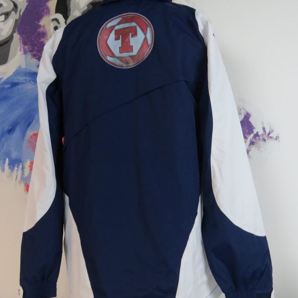 Vintage Scotland 2003 2004 2005 track jacket diadora wind breaker size M (1)