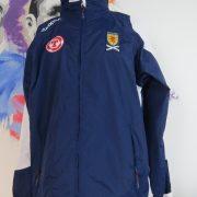 Vintage Scotland 2003 2004 2005 track jacket diadora wind breaker size M (2)