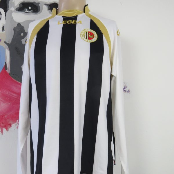Acsoli Calcio 2010 2011 ls home shirt Legea maglia calcio soccer jersey size L (1)