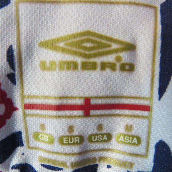 England 2008 away shirt Umbro Terry #6 World Cup 10 Qualifiers v Andorra S (3)