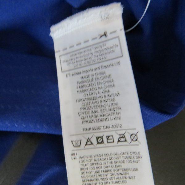 Adidas Alphaskin LS Shirt Compression 360 Tee CE0748 Blue Women's UK 8-10 S BNWT (1)