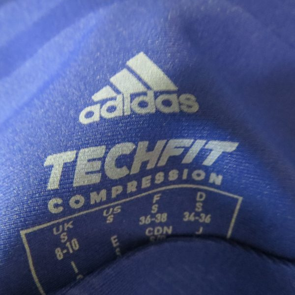 Adidas Alphaskin LS Shirt Compression 360 Tee CE0748 Blue Women's UK 8-10 S BNWT (9)