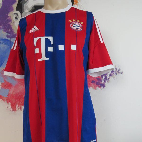 Bayern Munchen 2014 2015 home shirt adidas Alaba 27 signed size L (1)