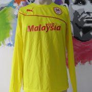 Cardiff City 2013 2014 ls third shirt Puma soccer jersey size M (1)