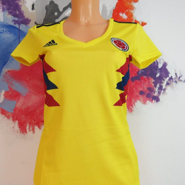 Colombia 2018 2019 Home Shirt adidas Jersey Womens size XS BNWT (1)