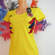 Colombia 2018 2019 Home Shirt adidas Jersey Womens size XS BNWT (4)