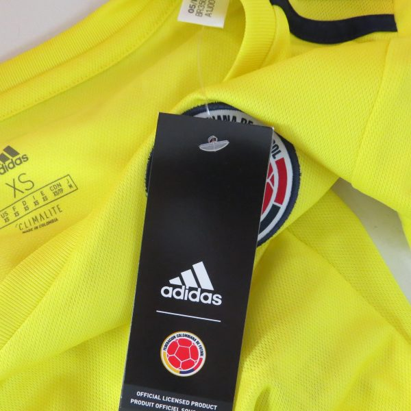 Colombia 2018 2019 Home Shirt adidas Jersey Womens size XS BNWT (5)