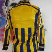 Juve Stabia 2004 2005 ls home shirt Fly Line maglia jersey size S signed (2)